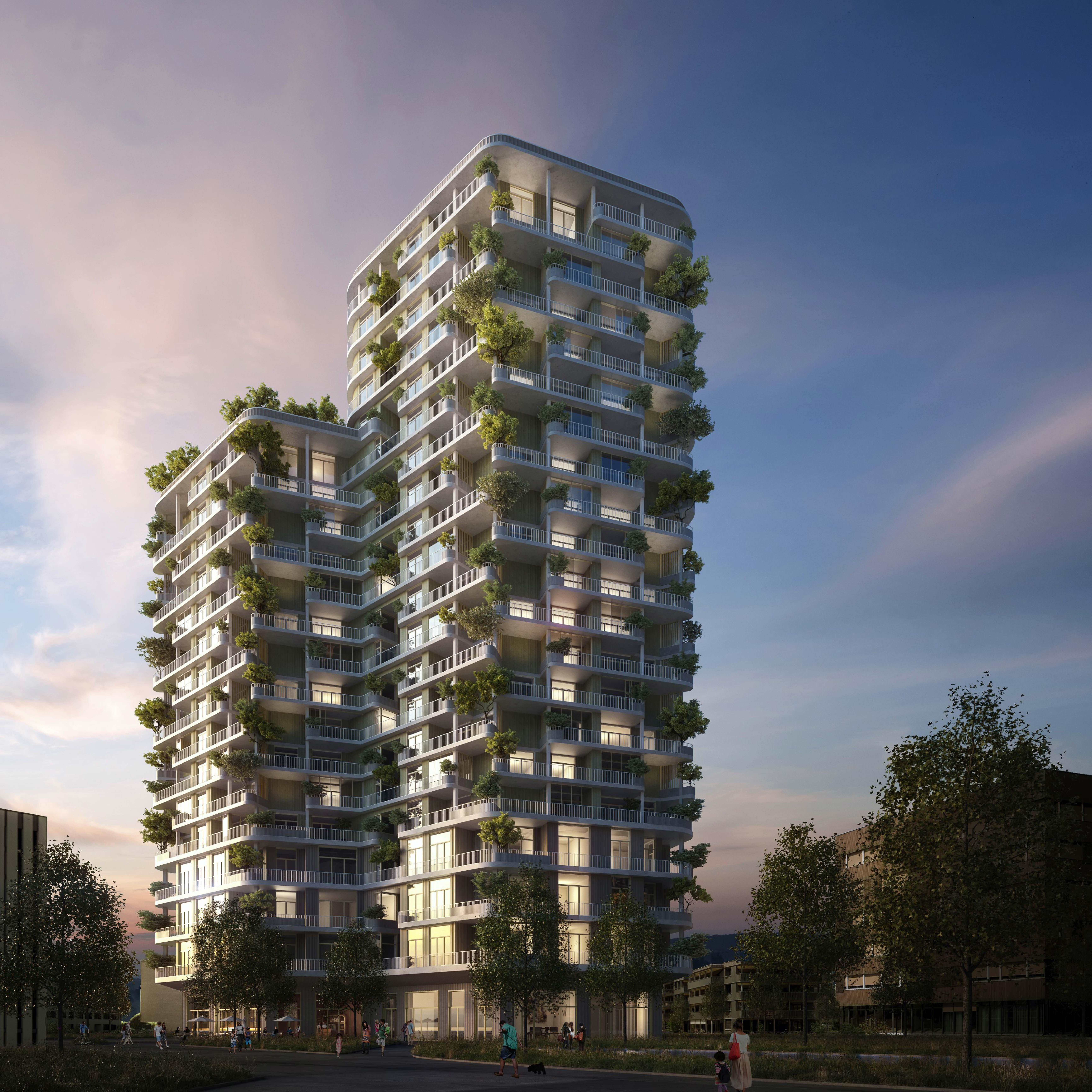 suurstoffi zug estates will 2016 zweites hochhaus bauen immobilien business. Black Bedroom Furniture Sets. Home Design Ideas