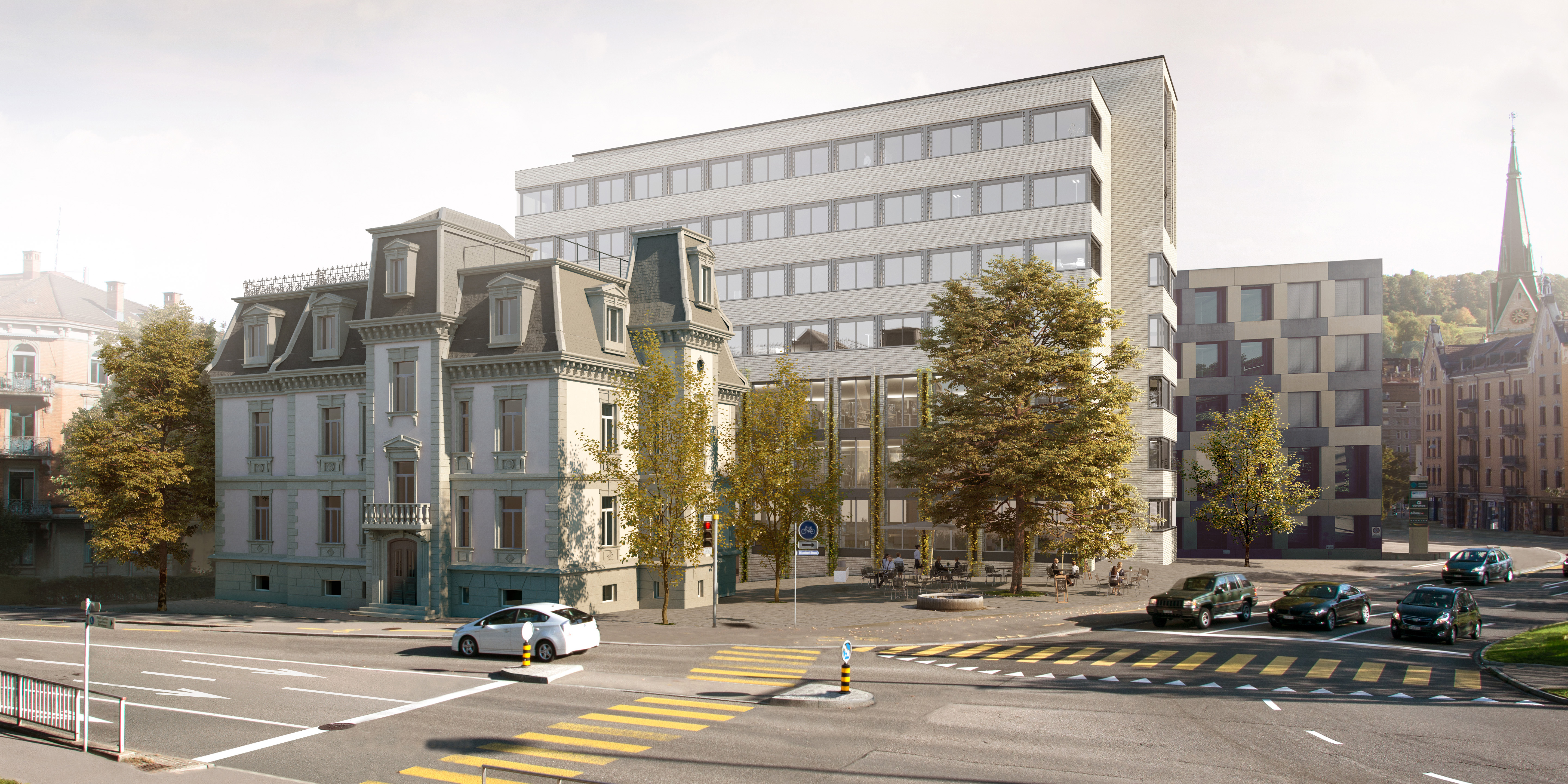 St. Gallen: Pensionskasse kauft Villa Wiesental und